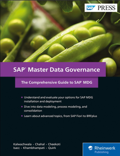 SAP Press - SAP MDG Master Data Governance The Comprehensive Guide