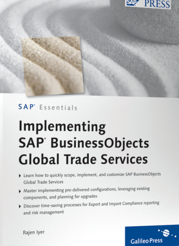 SAP Press - Implementing SAP BusinessObjects Global Trade Services