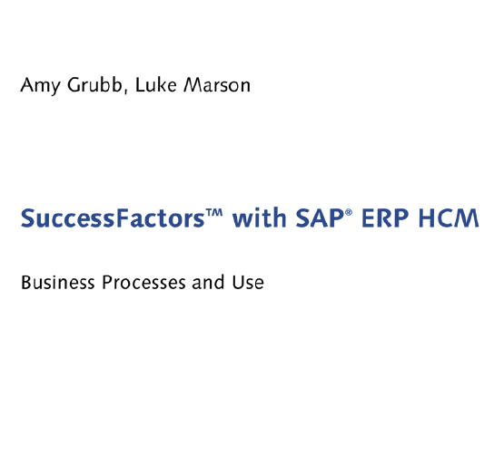SAP Press - SuccessFactors with SAP ERP HCM